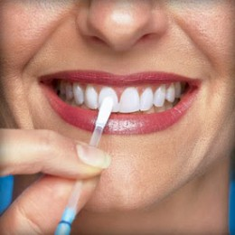 A bright white smile can make you look years younger.