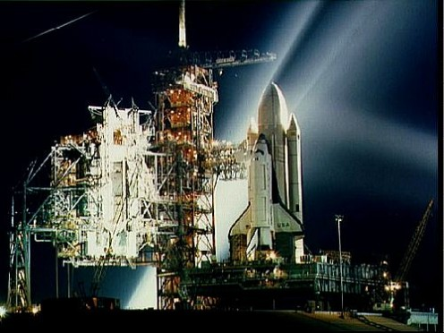 Space Shuttle Columbia.