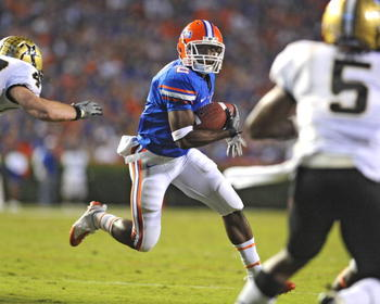 RB Jeff Demps    Florida