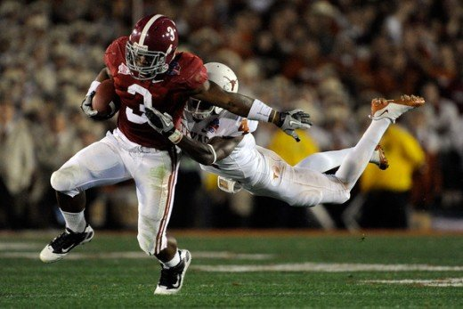 RB Trent Richardson  Alabama