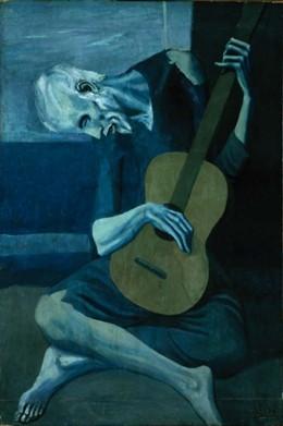 Old Guitarist - Pablo Picasso