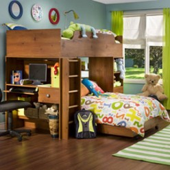Choosing the Best Bunk Bed Furniture For Your Kids: Safety First, Utility Second