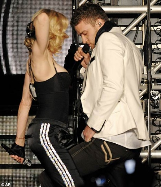 Madonna and Justin Timberlake