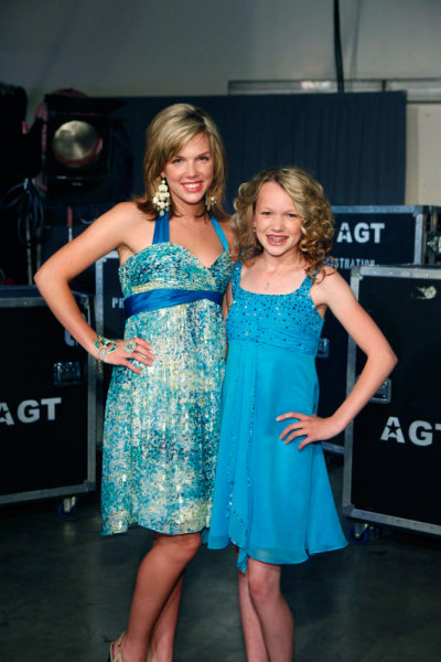 Christina And Ali - Our  Super Stars From The 2010 Season of America's Got Talent