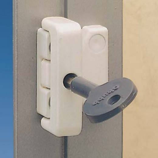Typical easy fit window lock