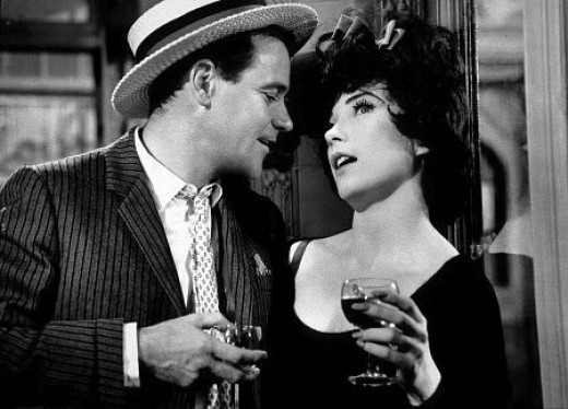With Shirley Maclaine in 'Irma La Douce'