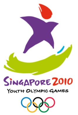 YOUTH OLYMPIC GAMES 2010 OFFICIAL LOGO (Photo courtesy of http://www.punggolpri.moe.edu.sg/)