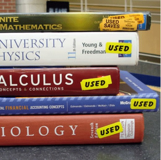 Used textbooks are a great way to save money, although if none are available cheap textbooks are still an option!