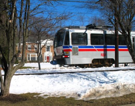 Shaker Rapid Transit, Shaker Heights, Ohio