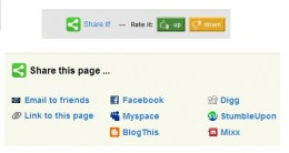 """Be Sure to Click on """"Share it!"""" link and Use the Links to Promote from the Sites Listed There."""
