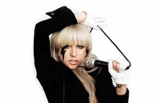 Lady Gaga herself