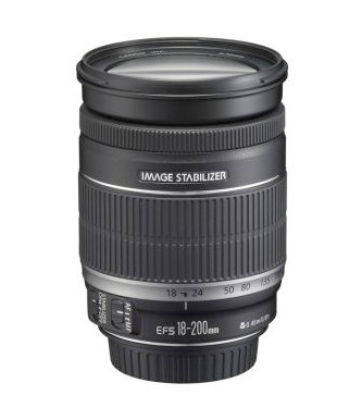 18-200mm Canon Lens