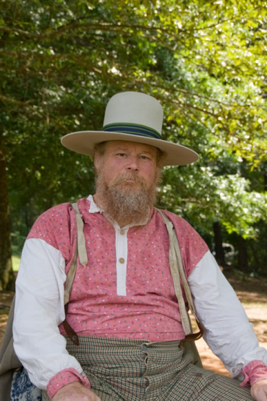 Civil War Re-enactment at Kennesaw, GA. Sigma 18-250mm lens for Canon at 43mm focal length.