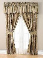 Window Drapes with a Valance