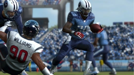 Chris Johnson, Tennessee Titans