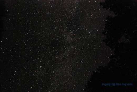 The Perseid meteor shower didn't pan out photographically, but the night sky is still an awesome sight.