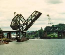 One of Seattle's many drawbridges