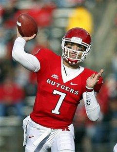 QB Tom Savage   Rutgers