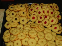The Revised Recipe for Home Made Butter Cookies -  How to Make Homemade Biscuits/Cookies