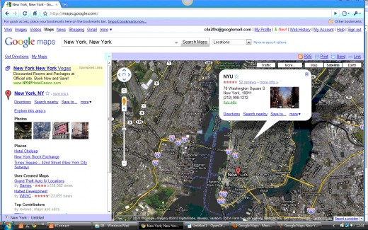 Locations Info