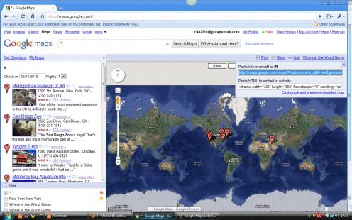 Google Maps Lab Link