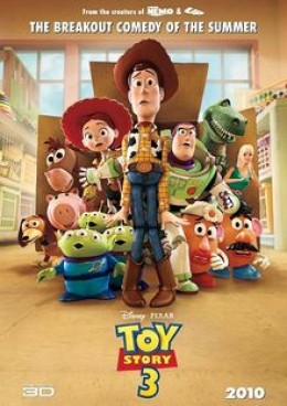 Toy Story 3 toys poster