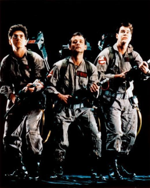 Harold Ramis, Bill Murray and Dan Aykroyd are the Ghost Busters