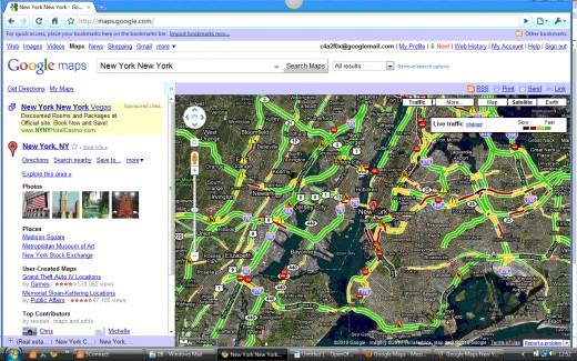 Traffic Overlay