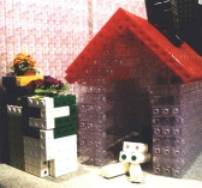 Dog Kennel constructed from EMIUM Bottles
