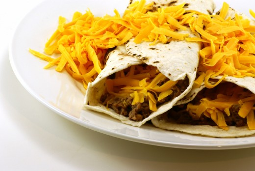Low carb tortillas make great low carb meals!