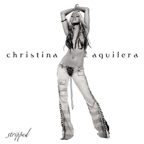 Christina Aguilera's STRIPPED album cover