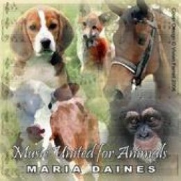 Music United For Animals CD by Maria Daines