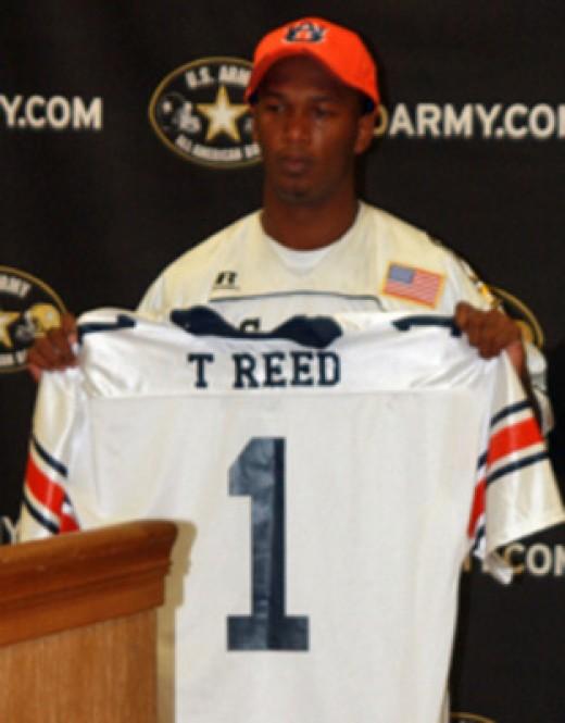 WR Trovon Reed Auburn
