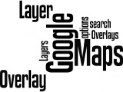 Google Maps Overlay and Google Maps  Layer Wordle by Humagaia