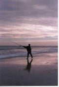 Surf Fishing at Oregon Inlet
