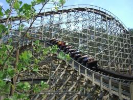Thunderhead Rollercoaster at Dollywood