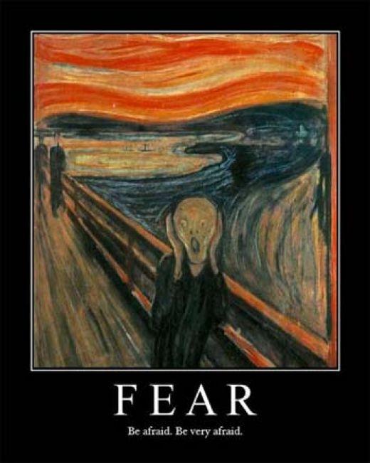 BE AFRAID. BE VERY AFRAID....OF SARAH PALIN!
