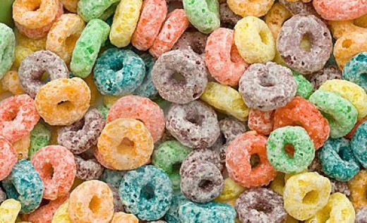 Can you guess how many artificial colors are in this cereal?