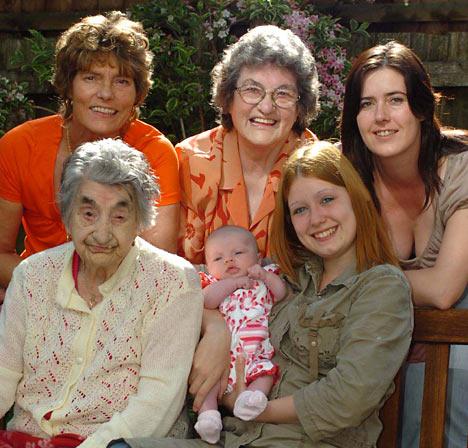 6 generations susancartierliebel
