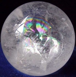 Clear Quartz Sphere.. Enabling ones ability to see beyond...