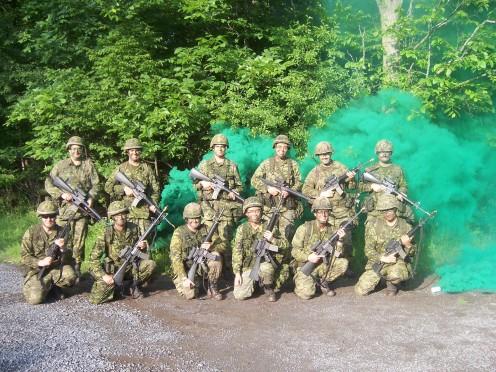 The graduates of LCIS QL3 Course 0086