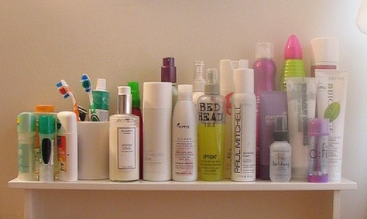 A bevy of hair-care products? Does this stuff actually work?