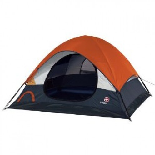 Swiss Gear Cheval Sport Dome Tent (Orange/Grey)