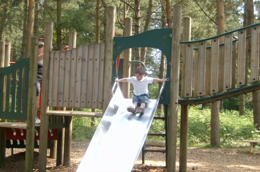 A part of Rendlesham play area