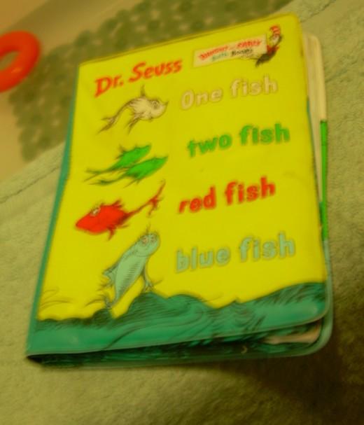 Dr. Seuss bath book