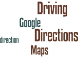 Driving Directions Wordle word cloud by Humagaia