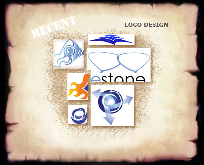 These are the different versions of my clip arts I provided in the process of creating one single logo   for http://www.bluestoneme.com (c)rembrandz.com