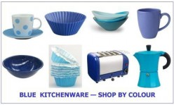 Blue Kitchenware - Shop By Colour