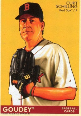 2009 Upper Deck Goudey #34 Curt Schilling, Boston Red Sox