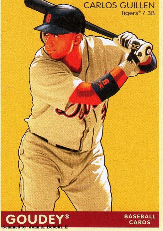 2009 Upper Deck Goudey #70 Carlos Guillen, Detroit Tigers
